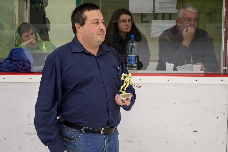 Róbert Svitok, štatistik Slovenského zväzu ľadového hokeja