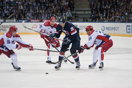 HOKEJ-KHL  Slovan prehral s CSKA aj doma 3e822f6976e