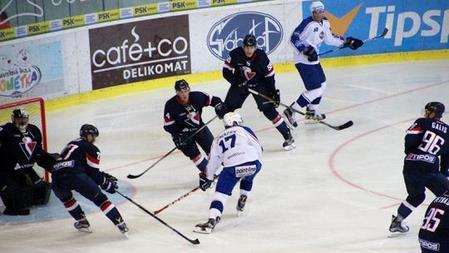 HOKEJ-KHL  Slovan Bratislava v príprave nestačil na Kometu Brno ... 9485b9e9dff