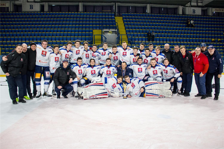 Reprezentácia do 18 rokov po víťazstve na XIII. ročníku Turnaja Vlada Dzurillu