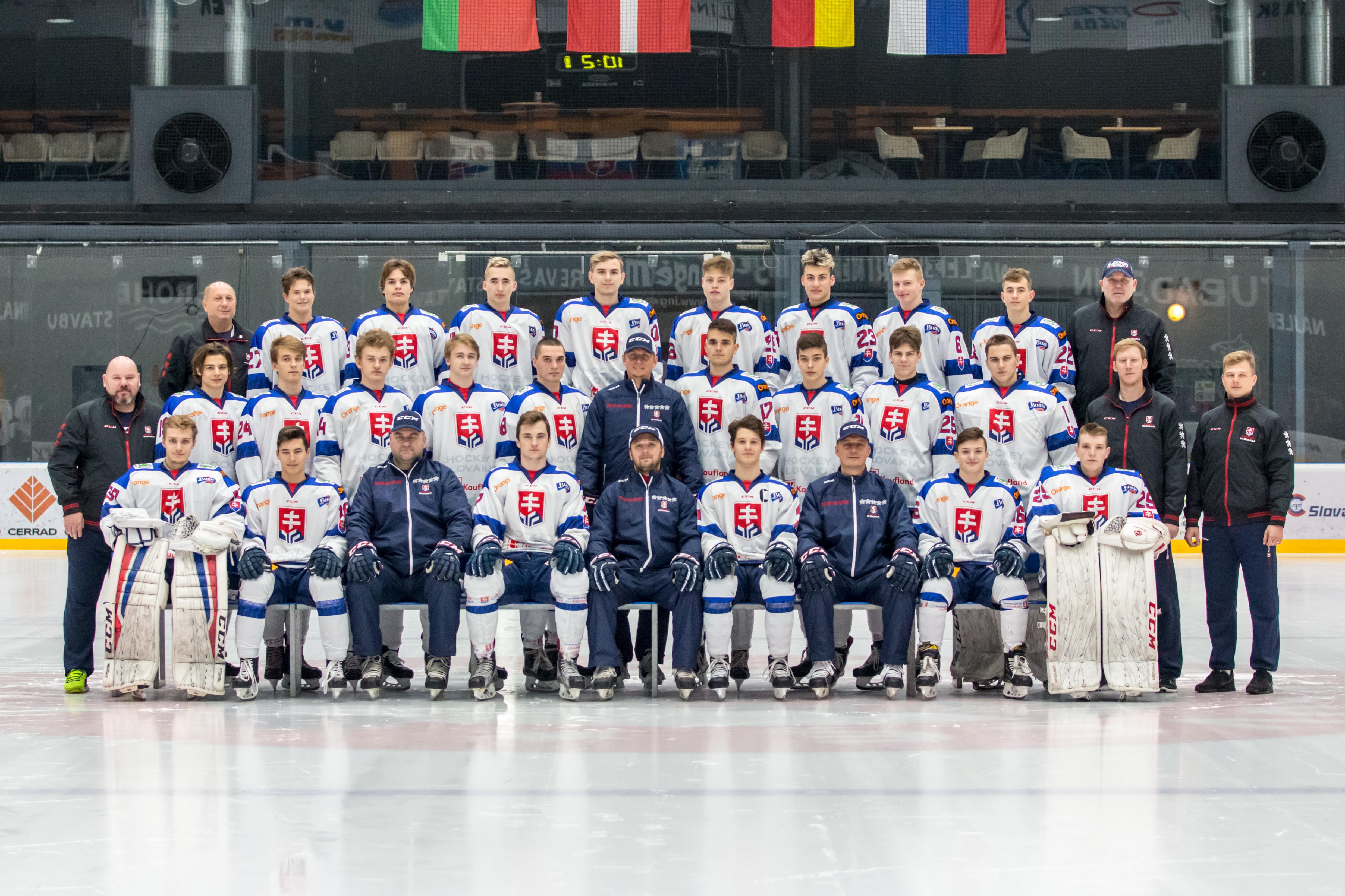 8195db0637e46 Reprezentácia SR 18 / SVK U18 | HockeySlovakia.sk - oficiálny web ...
