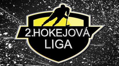 2. hokejová liga logo