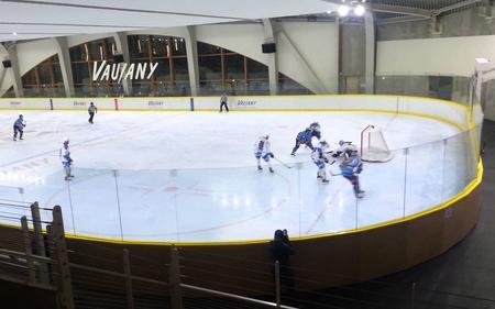 Hala vo francúzskom Vaujany, dejisko zápasov našich junioriek na MS divízie I, foto youtube.com