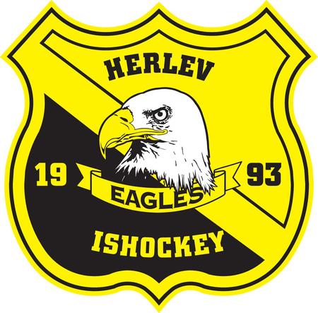 Herlev Eagles logo, Dánsko, foto sportun.com