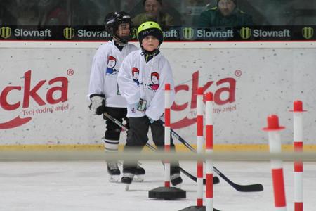 Malí Skaličania pred tréningovou úlohou, foto Miroslav Mindas